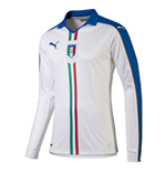 2015-2016 Italy Away Long Sleeve Puma Football Shirt