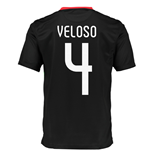 2015-2016 Portugal Nike Away Shirt (Veloso 4)