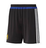 2015-2016 Basle Adidas Home Shorts (Black)