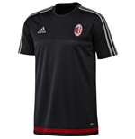 2015-2016 AC Milan Adidas Training Jersey (Black)