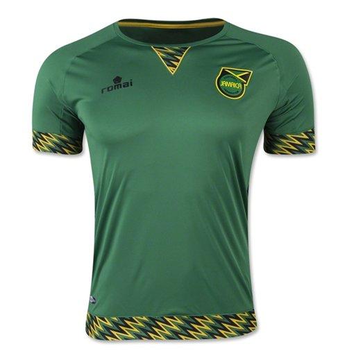 buy online 7ef26 9fe5c 2015-2016 Jamaica Away Romai Football Shirt