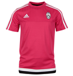 2015-2016 Juventus Adidas Training Shirt (Pink) - Kids