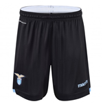 2015-2016 Lazio Macron Away Shorts (Black) - Kids