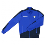 2015-2016 Lazio Macron Pre-Match Anthem Jacket (Purple Blue)