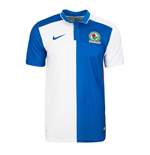 2015-2016 Blackburn Home Nike Football Shirt