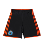 2015-2016 Hamburg Adidas Third Shorts (Black)