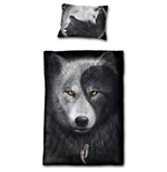 Wolf Chi - Single Duvet Cover + UK And EU Pillow case