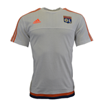 2015-2016 Lyon Adidas Training Tee (White)