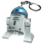 Lego Star Wars Mini-Flashlight with Keychains R2-D2