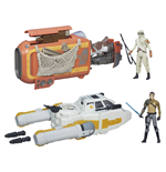 Star Wars Class I Deluxe Vehicles with Figures 2015 Wave 1 Assortment (4)