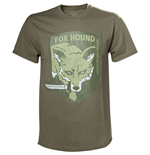 METAL GEAR SOLID Fox Hound Special Forces Group Men's T-Shirt, Medium, Beige