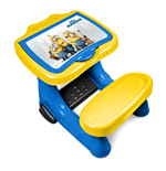 MINIONS Activity Desk with 30 Piece Creative Active Set