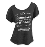 JACK DANIELS Loose Fit Women's Grey Sourmash Whiskey T-Shirt