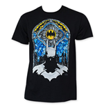 BATMAN Stained Glass Tee Shirt