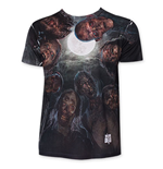 The WALKING DEAD Zombies Hover Sublimated Tee Shirt