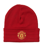 2015-2016 Man Utd Adidas Woolie Hat (Red)