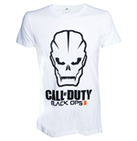 CALL OF DUTY Black Ops III Skull Men's T-Shirt, Large, White