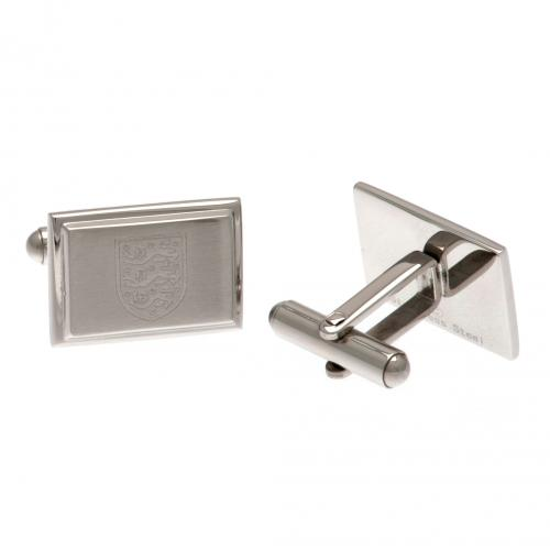 England F.A. Stainless Steel Cufflinks
