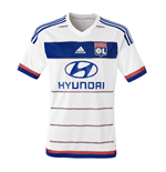 2015-2016 Olympique Lyon Adidas Home Football Shirt