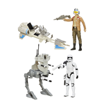Star Wars Episode VII Ultimate Vehicles with Figures 2015 Wave 1 Assortment (4)