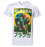 CAPCOM Street Fighter IV Blanka Character Men's T-Shirt, Extra Large, White