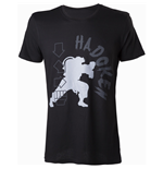 CAPCOM Street Fighter IV Hadoken Men's T-Shirt, Large, Black