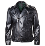 NINTENDO Legend of Zelda Royal Crest Faux Leather Men's Jacket, Medium, Black