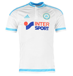 2015-2016 Marseille Adidas Home Football Shirt