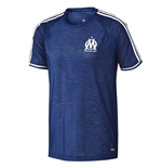 2015-2016 Marseille Adidas EU Training Shirt (Blue)