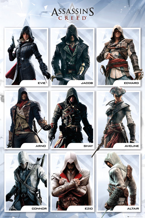 Assassins Creed Compilation Maxi Poster