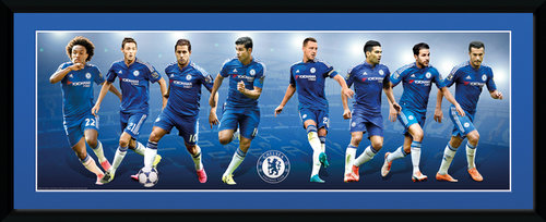 Chelsea Players 15/16 Framed Collector Print