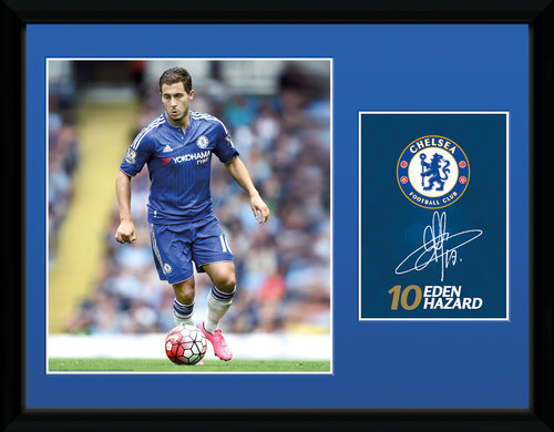 Chelsea Hazard 15/16 Framed Collector Print