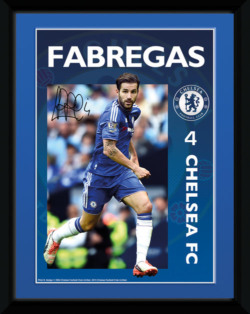 Chelsea Fabregas 15/16 Framed Collector Print