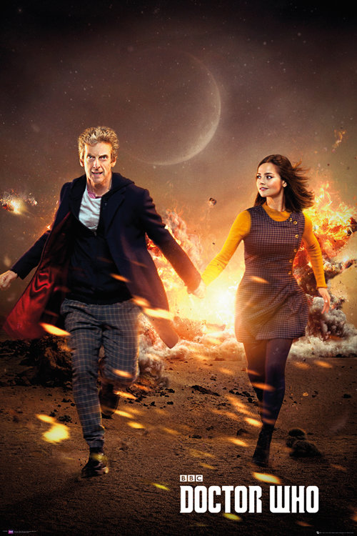 Doctor Who Run Maxi Poster