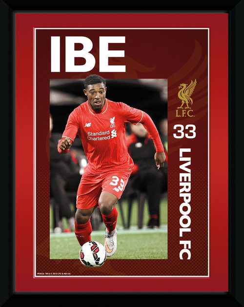 Liverpool Ibe 15/16 Framed Collector Print