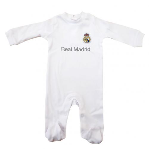 Real Madrid F.C. Sleepsuit 0/3 mths