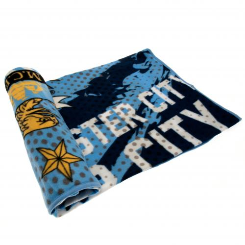 Manchester City F.C. Fleece Blanket IP