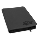 Ultimate Guard 8-Pocket QuadRow ZipFolio XenoSkin Black