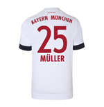 2015-16 Bayern Munich Away Shirt (Muller 25)