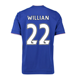 2015-16 Chelsea Home Shirt (Willian 22)
