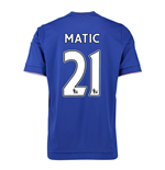 2015-16 Chelsea Home Shirt (Matic 21) - Kids