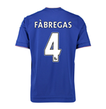 2015-16 Chelsea Home Shirt (Fabregas 4) - Kids