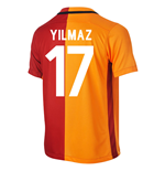 2015-16 Galatasaray Home Shirt (Yilmaz 17) - Kids