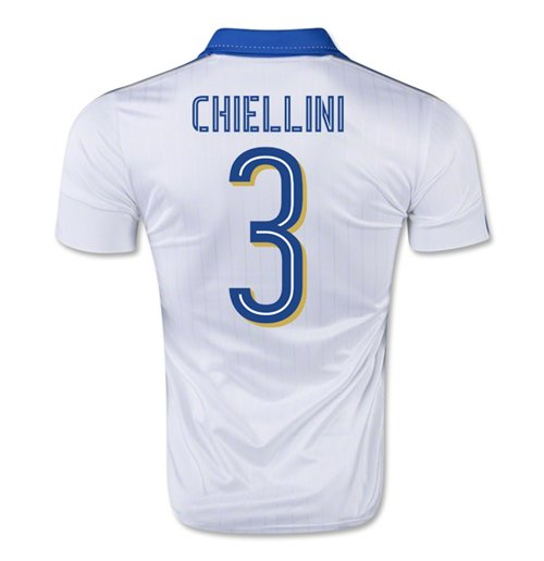 2015-16 Italy Away Shirt (Chiellini 3)