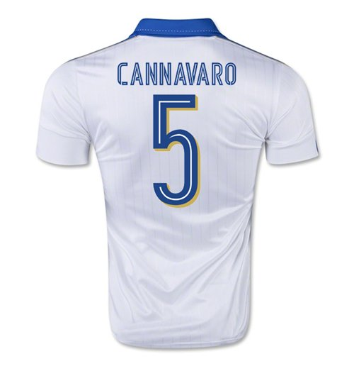 2015-16 Italy Away Shirt (Cannavaro 5) - Kids