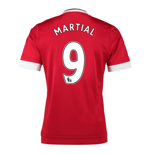 2015-16 Man United Home Shirt (Martial 9)