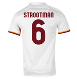 2015-16 Roma Away Shirt (Strootman 6) - Kids