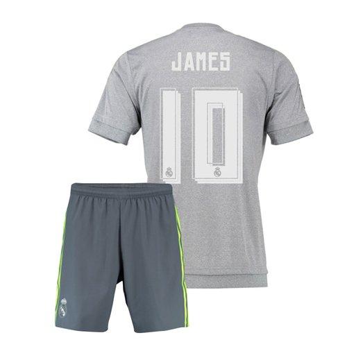 half off 1134f c6d6f 2015-16 Real Madrid Away Mini Kit (James 10)