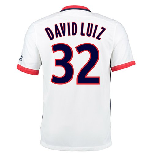 2015-16 PSG Nike Away Kit (David Luiz 32) - Kids