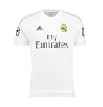2015-2016 Real Madrid Adidas UCL Home Football Shirt